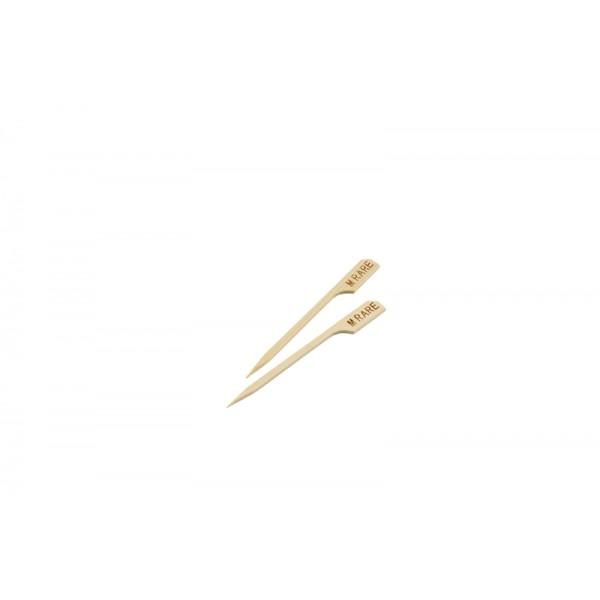 "Bamboo Steak Markers 9cm/3.5"" Medium (100pcs)"