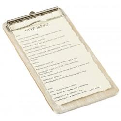 Menu Holders, Paddle & Clip Boards