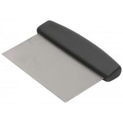 Dough Scraper Black Handle 150 x 75mm 8mm thick