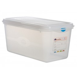 GN Storage Container 1/3 150mm Deep 6L (supplied with lid) (pack of 6)