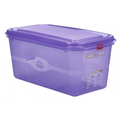 Allergen GN Storage Container 1/3 150mm Deep 6L Supplied with Lid (pack of 6)