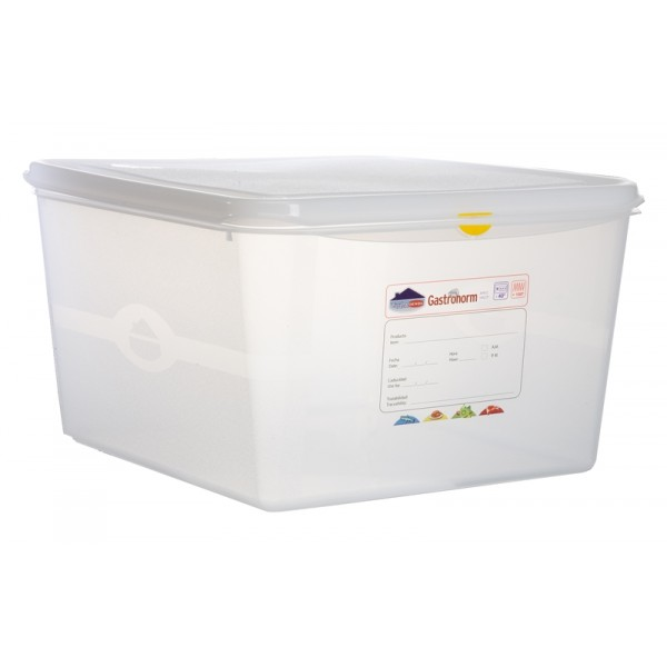 GN Storage Container 2/3 200mm (supplied with lid) (pack of 6)