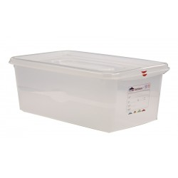 GN Storage Container  FULL SIZE 200mm Deep 28L (supplied with lid) (6pk)