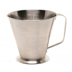 Stainless Steel Graduated Jug 0.5L/1Pt. 113mm dia