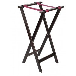 """Mahogany Tray Stand 33""""/840mm High 16.5""""/420mm Wide"""