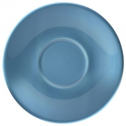 Royal Genware Saucer 13.5cm Blue (Pack of 6)