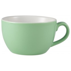 Royal Genware Bowl Shaped Cup 17.5cl/6oz Green (Pack of 6)