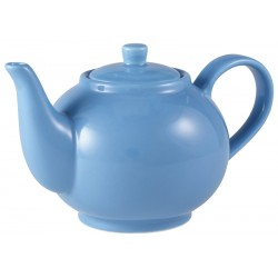 Royal Genware Teapot 45cl Blue (Pack of 6)