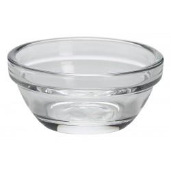 Stacking Glass Ramekin 7.5cl/2.75oz 7.5cm Dia. 7.5cm (pack of 6)