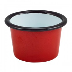 Enamel Ramekin Red 7cm Dia 90ml/3.2oz
