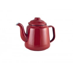 Enamel Teapot Red 1.5L