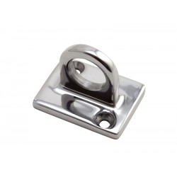 Wall Attachment For Barrier Rope - Chrome L 48mm x 37mm