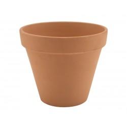 Terracotta Pot Rustic 11.2 x 9.7cm No hole in base