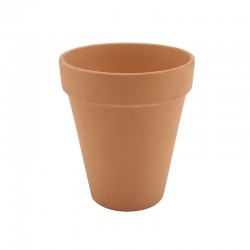 Tall Terracotta Pot Rustic 10 x 12cm Hole at the bottom of pot