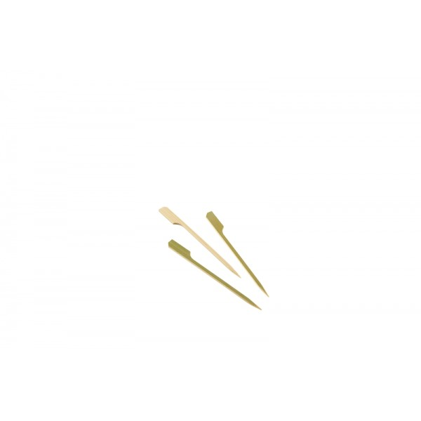 "Bamboo Gun Shaped Paddle Skewers 12cm/4.75"" (100pcs)"