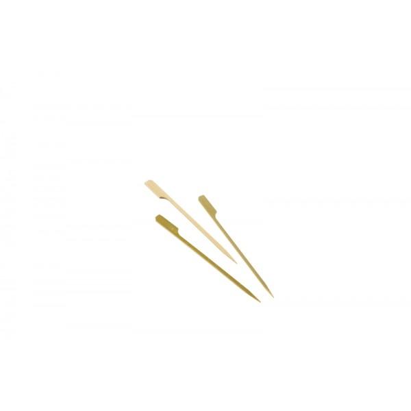 "Bamboo Gun Shaped Paddle Skewers 15cm/6"" (100pcs)"