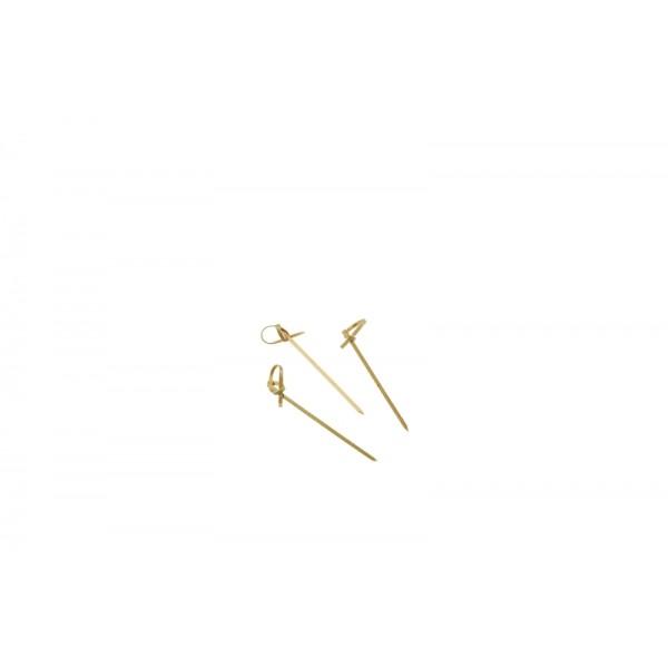 "Bamboo Looped Skewers 9cm/3.5"" (100pcs)"