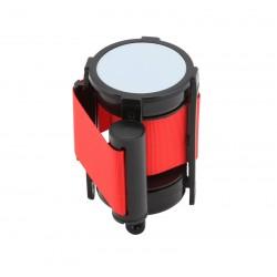 Genware Barrier Post - Retractable Red Belt (pack of 2)
