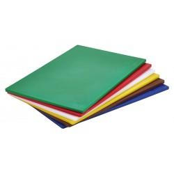 """Brown Poly Cutting Board 18 x 12 x 0.5"""" Low Density PE"""