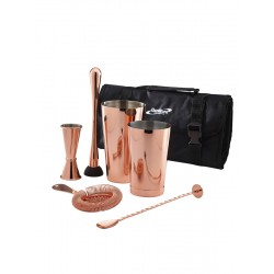 Copper Cocktail Bar Kit 7pcs