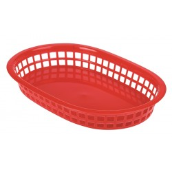 Fast Food Basket Red 27.5 x 17.5cm (pack of 6)