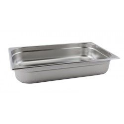 Stainless Steel Gastronorm Pan  FULL SIZE - 100mm Deep