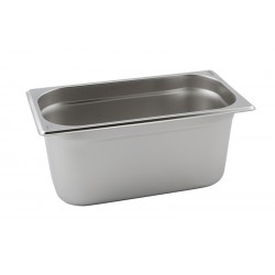 Stainless Steel Gastronorm Pan 1/3 - 150mm Deep