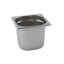 Stainless Steel Gastronorm Pan 1/6 - 200mm Deep