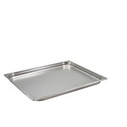 St/St Gastronorm Pan 2/1 - 40mm Deep