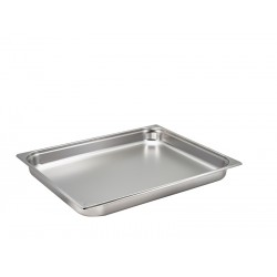 St/St Gastronorm Pan 2/1 - 65mm Deep
