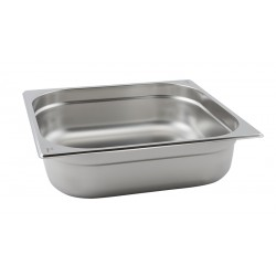 Stainless Steel Gastronorm Pan 2/3 - 100mm Deep