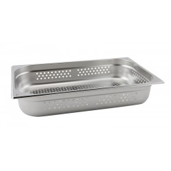 Perforated Stainless Steel Gastronorm Pan  FULL SIZE - 100mm Deep