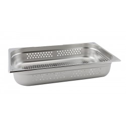 Perforated Stainless Steel Gastronorm Pan  FULL SIZE - 20mm Deep