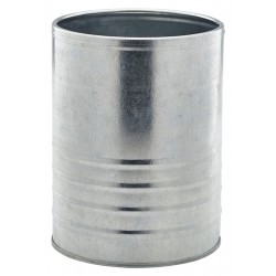 Galvanised Steel Can 11cm Dia. x 14.5cm