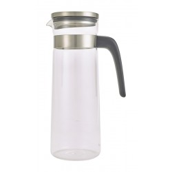 Glass Water Jug With Stainless Steel Lid 1.5L/52.5oz