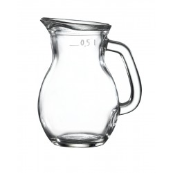 Classic Glass Jug 0.5L / 17.5oz H153 x W98mm (pack of 6)