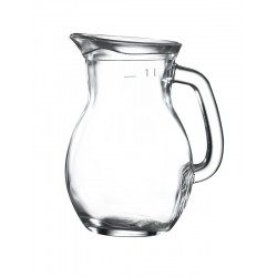 Classic Glass Jug 1L / 35oz H192 x W122mm (pack of 6)