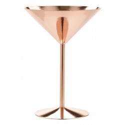 Copper Martini Glass 24cl/8.5oz Height 17cm