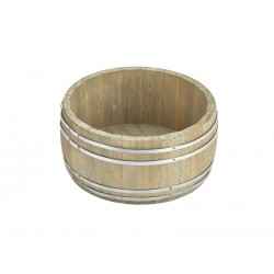 Miniature Wooden Barrel 16.5Dia. x 8cm