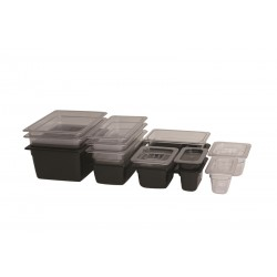 1/2 -Polycarbonate GN Pan 100mm Clear