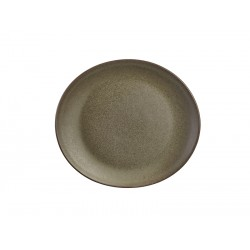 Terra Stoneware Antigo Oval Plate 21x19cm (Pack of 12)