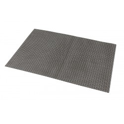 Placemat Silver-Gold 45 x 30cm PVC For temperatures below 70 Degrees