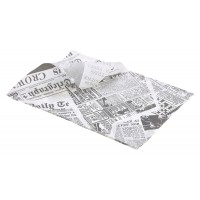 Greaseproof Paper 25 x 35cm (1000 Sheets) Printed