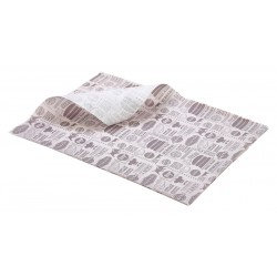 Greaseproof Paper Steak House Design 25 x 35cm 1000 Sheets per Parcel