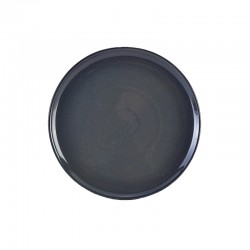 Terra Stoneware Rustic Blue Pizza Plate 33.5cm (Pack of 6)