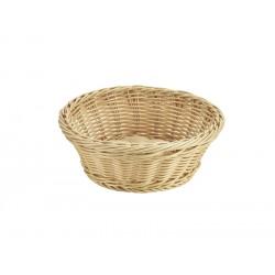 Round Polywicker Basket 21Dia. x 8cm
