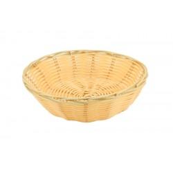 """Round Polywicker Basket 7""""Dia X 2"""" Deep"""