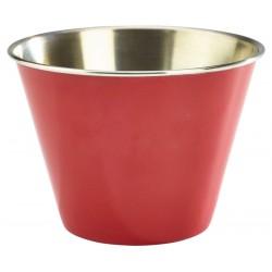 12oz Stainless Steel Ramekin Red