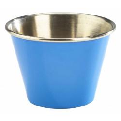 2.5oz Stainless Steel Ramekin Blue 5.7cm dia, 4cm height