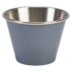 2.5oz Stainless Steel Ramekin Grey